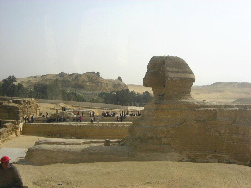 Статуя Сфинкса в Египте - большой сфинкс в Гизе - ЮНЕСКО, Руины, Пустыня, Достопримечательности - egypt, giza