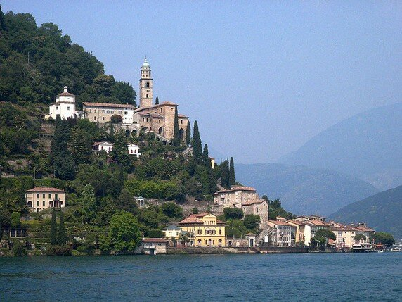 Озеро Лугано в Италии