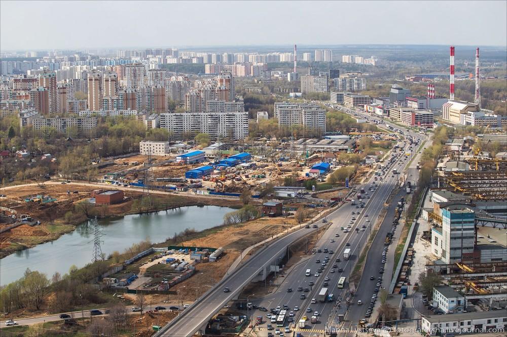 17. Боровское шоссе.