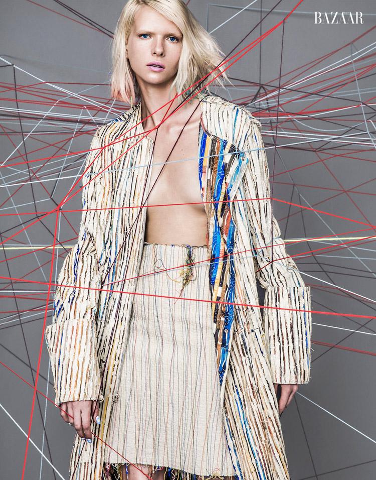 Алена Субботина в журнале Harper's Bazaar Vietnam