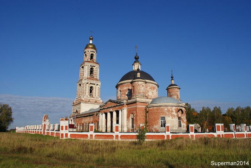 село Ильинский Погост - Храм Воскресения Христова