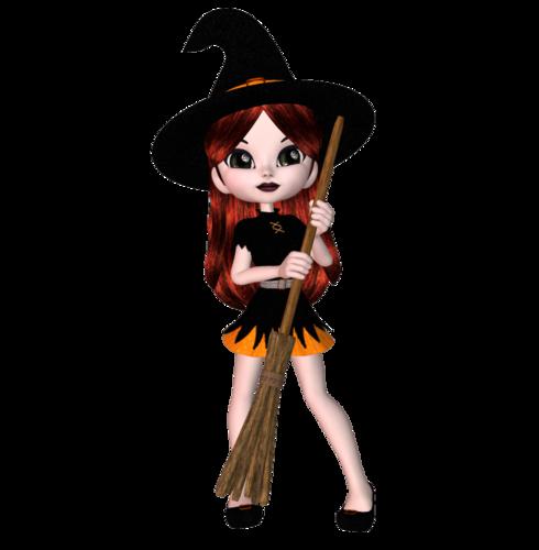 Cookie-ведьмочка(к Хеллоуину)