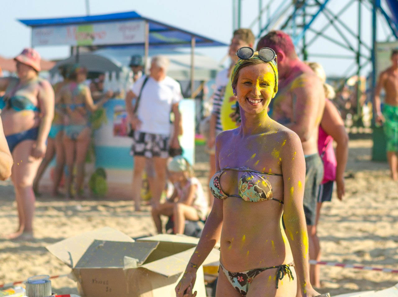 Витязево фестиваль красок фото
