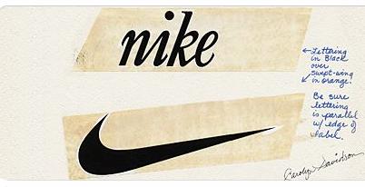 d57a90ac Такой анализ стал основой успеха Nike. В 1971 году был придуман знаменитый  логотип Nike. «Росчерк», символизирующий крыло богини Ники, был придуман ...
