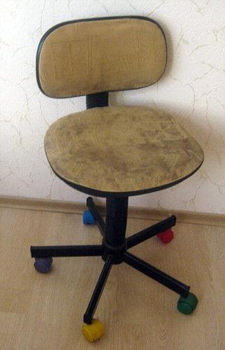 Как своими руками преобразить старый стул фото 625