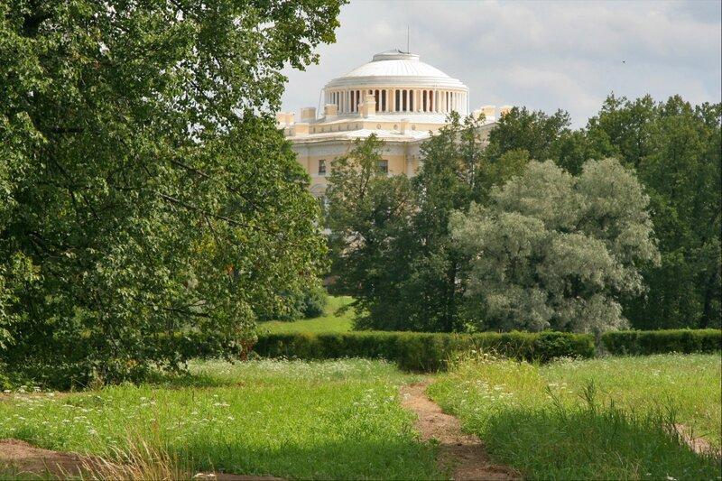 Павловский парк, Павловский дворец