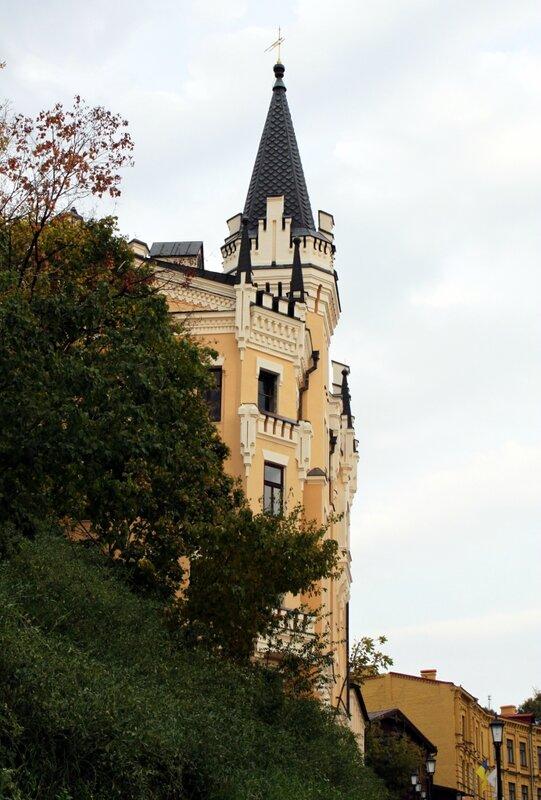 Замок Ричарда на Андреевском спуске