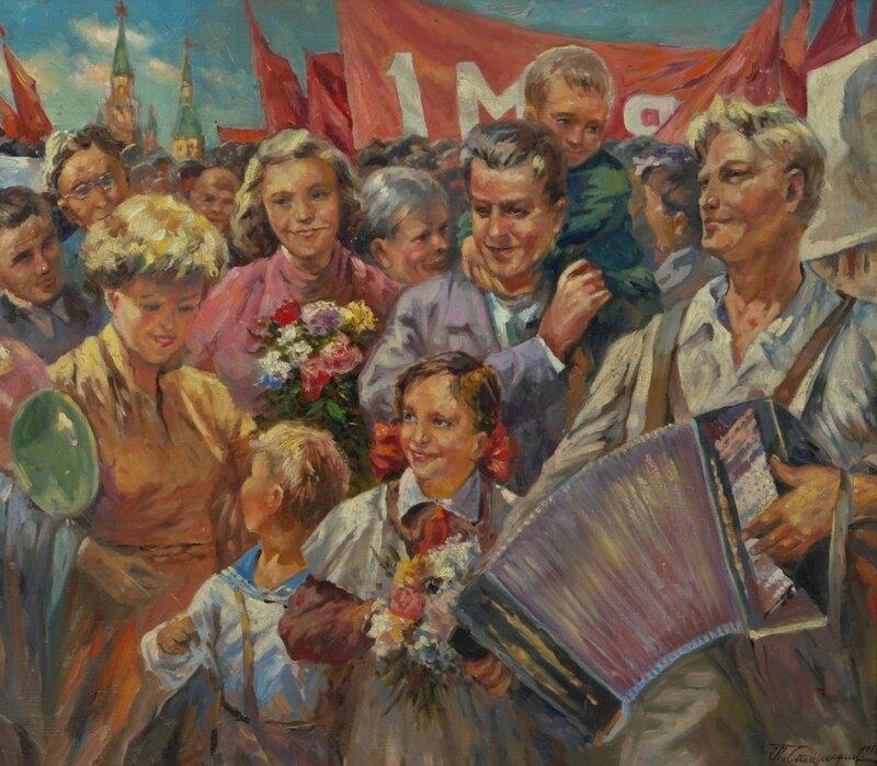 Старостин Павел Николаевич. 1 мая, 1960