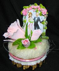 букеты из конфет,свадьба
