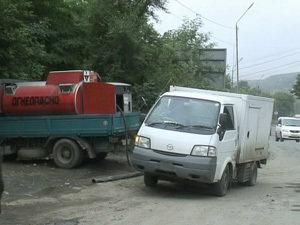 Во Владивостоке торговали топливом, не соблюдая требования техники безопасности