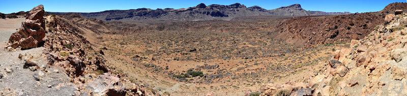 На плато недалеко от вулкана Тейде, Тенерифе