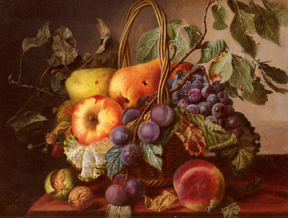 Натюрморты с виноградом и фруктами Обсуждение на