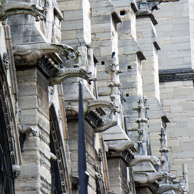The Gargoyles of Notre Dame, Paris