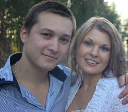 Крапивин Юра и его жена Лидия