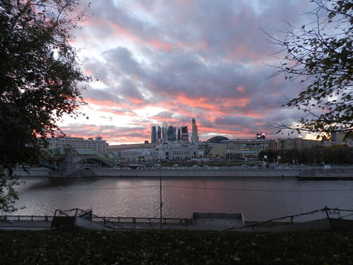 Где в Москве можно посмотреть на закат?