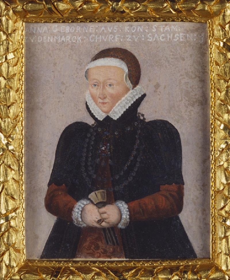 Анна, Electress Саксонии (1532-1585)