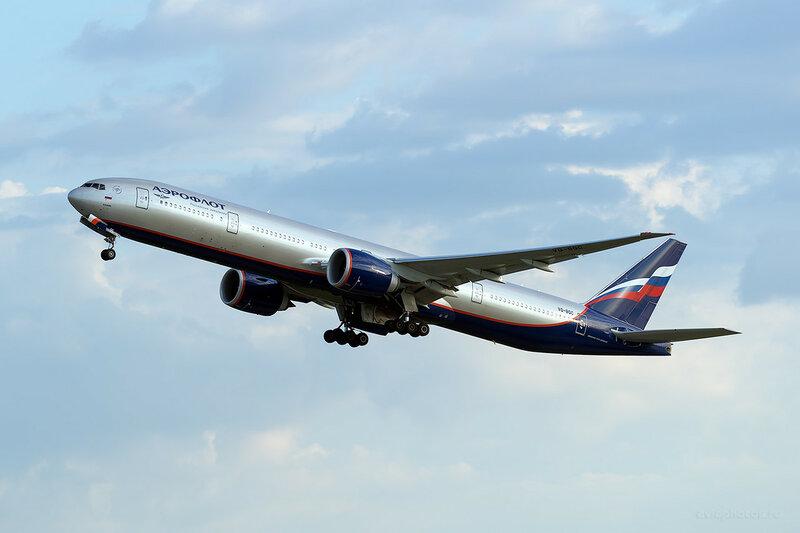 Boeing 777-3MO/ER (VQ-BQC) Аэрофлот D809381