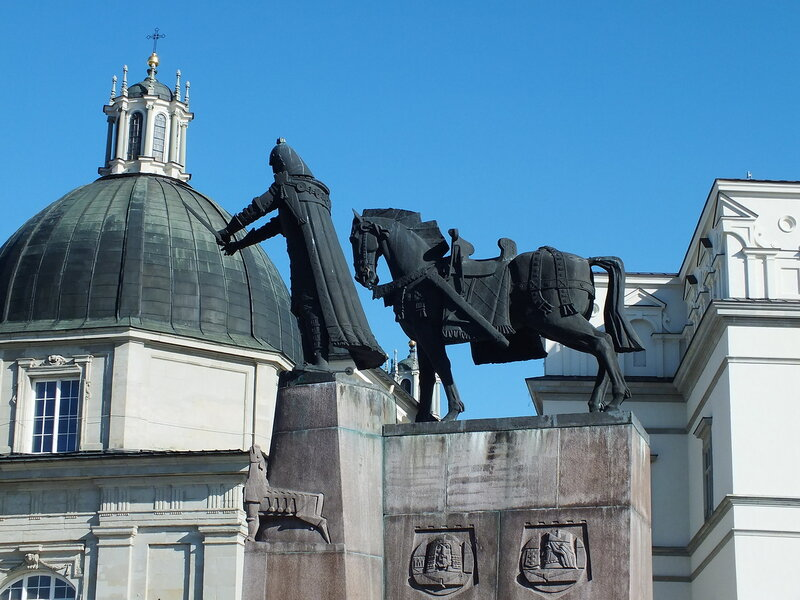 Памятник Великому князю Литовскому Гедиминасу