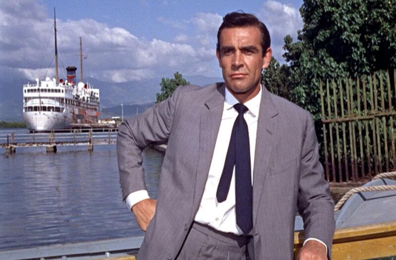 Такой галстук похож на вязаный