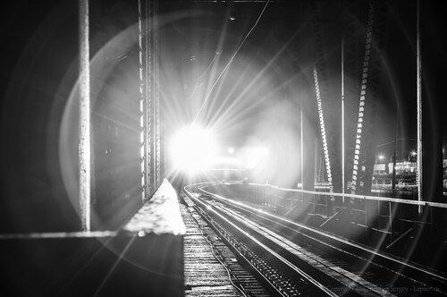 ночной мост