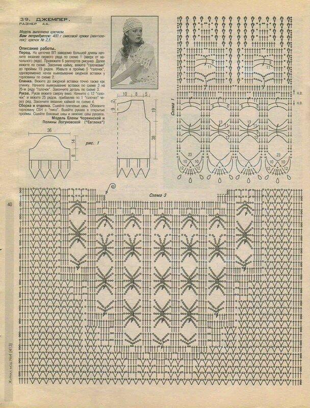 Журнал мод 413, стр. 40