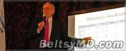 Псевдоученый* Пол Кэмерон из США выступил в Бельцах