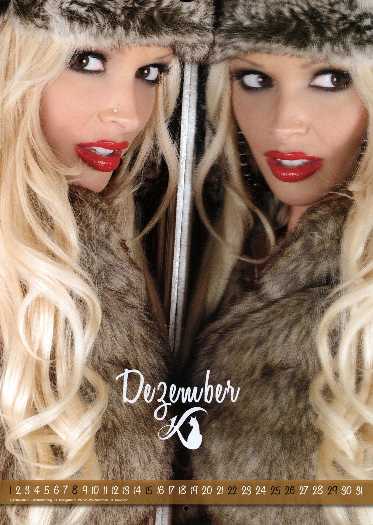 Daniela Katzenberger / Даниэла Катценбергер - официальный календарь на 2013 год