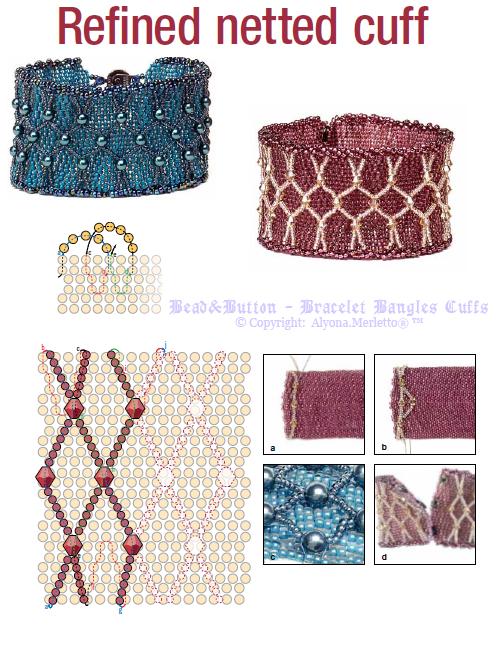 Источник: Журнал Bead & Button Жанр: бисероплетение, немного полимерной глины и работы с проволокой Издательство...