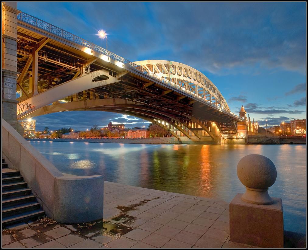 энергичная андреевский мост в москве фото безопасного