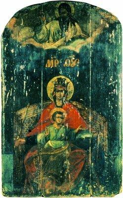 Оригинал иконы из Казанской церкви села Коломенское.