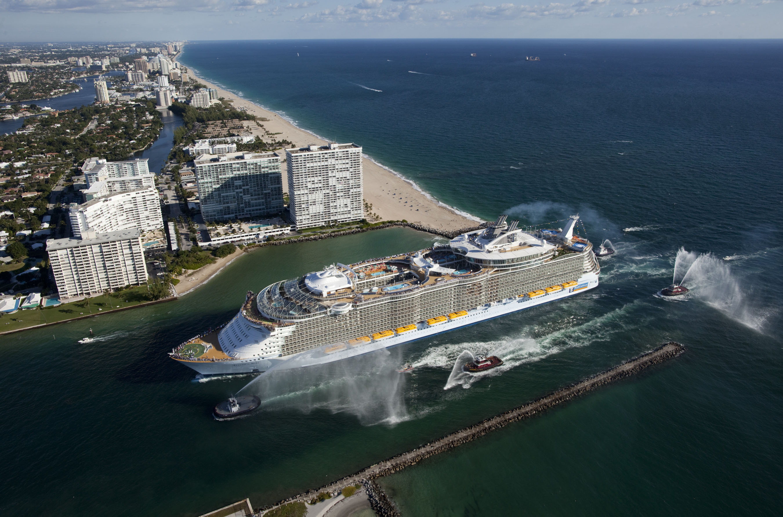 ROYAL CARIBBEAN CRUISES LTD. ALLURE OF THE SEAS
