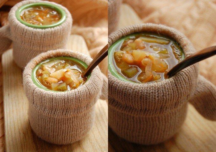 густой зимний суп