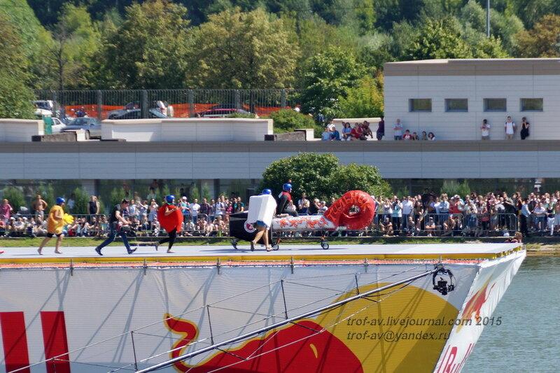 Команда Кипятильник, Фестиваль Red Bull Flugtag 2015, Москва