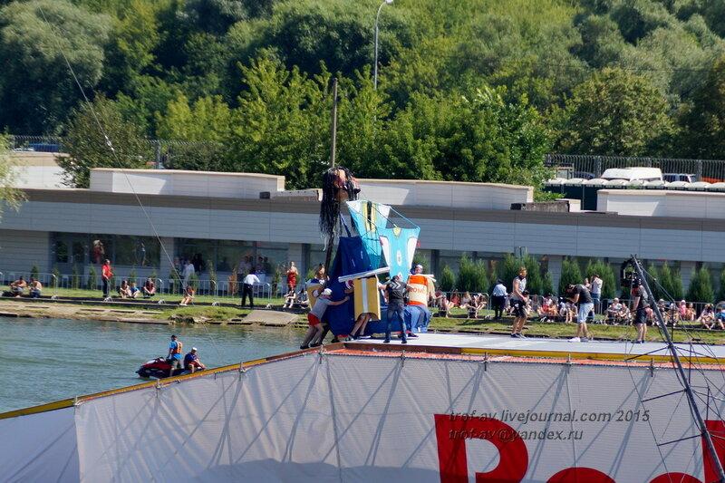 Команда Борода Кончиты, Фестиваль Red Bull Flugtag 2015, Москва