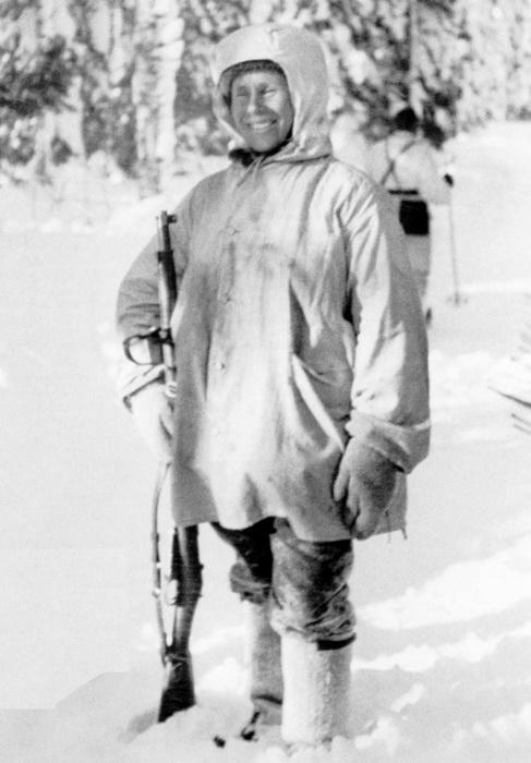 Самый результативный снайпер - Симо Хяюхя