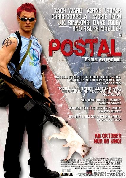 Постал / Postal (2007/HDRip/BDRip)