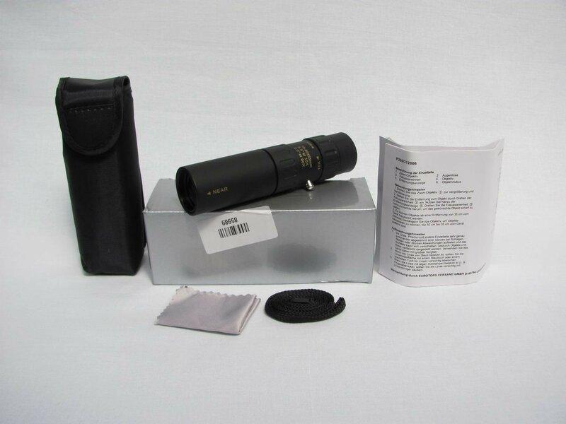 ChinaBuye: Компактный монокуляр с отличными характеристиками