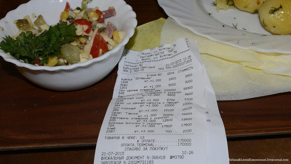 Ресторан Лідо Минск