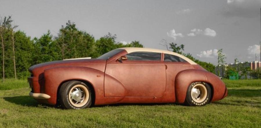 Этот автомобиль собранный в единственном экземпляре, является настоящим произведением искусства. Он