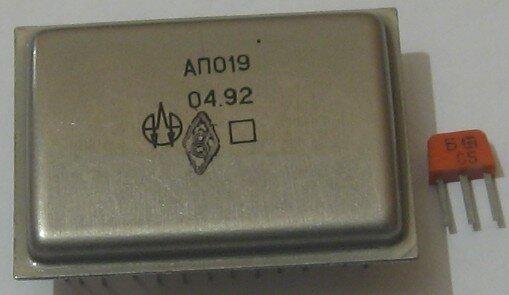 Применялась, к примеру, в осциллографе С1-126/1.  Производитель - Минское... от неё.