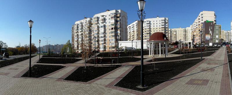 панорама Есенинского сквера, фото SanchesS