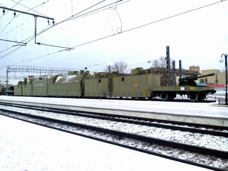 """Макет бронепоезда №13 - """"Туляк"""""""