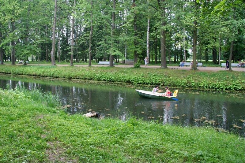 Павловский парк, Большой Вокзальный пруд