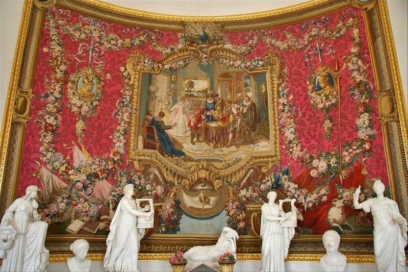 Павловский дворец, Библиотека императрицы Марии Федровны