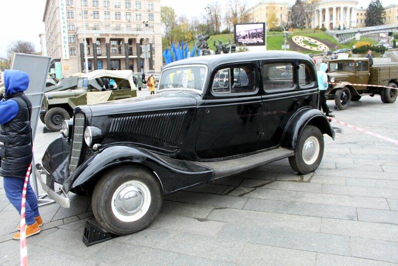 ГАЗ - М1 (эмка)