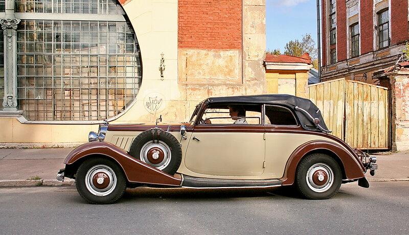 Horch 830BL Sport Cabriolet 1933