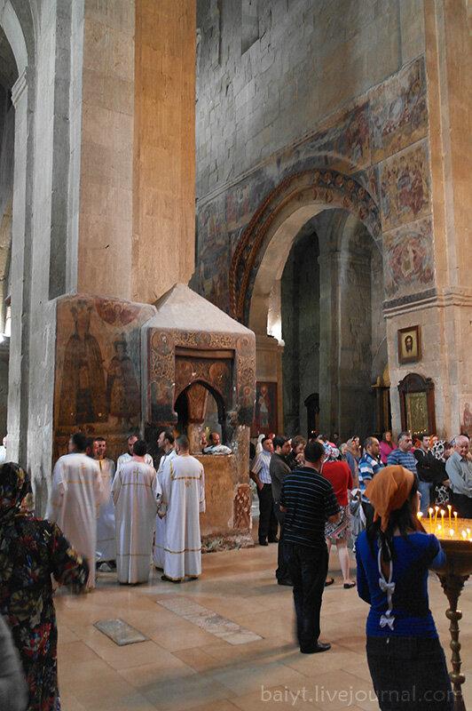 Мужской хор собора Светицховели