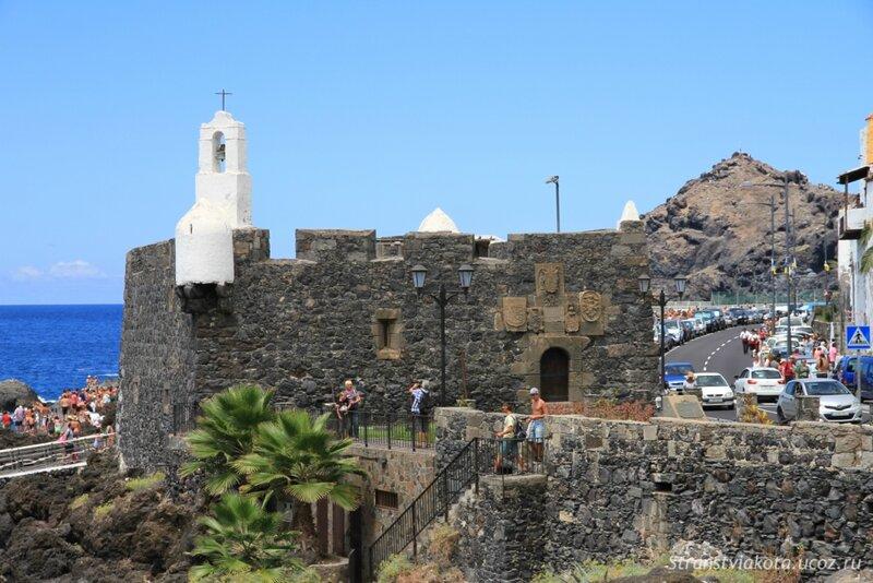 Тенерифе, Гарачико, форт Сан Мигель