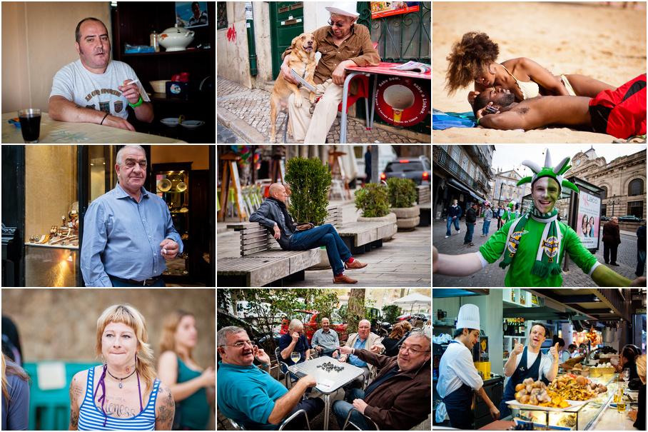 Люди из поезкди (Испания, Португалия - октябрь 2012)