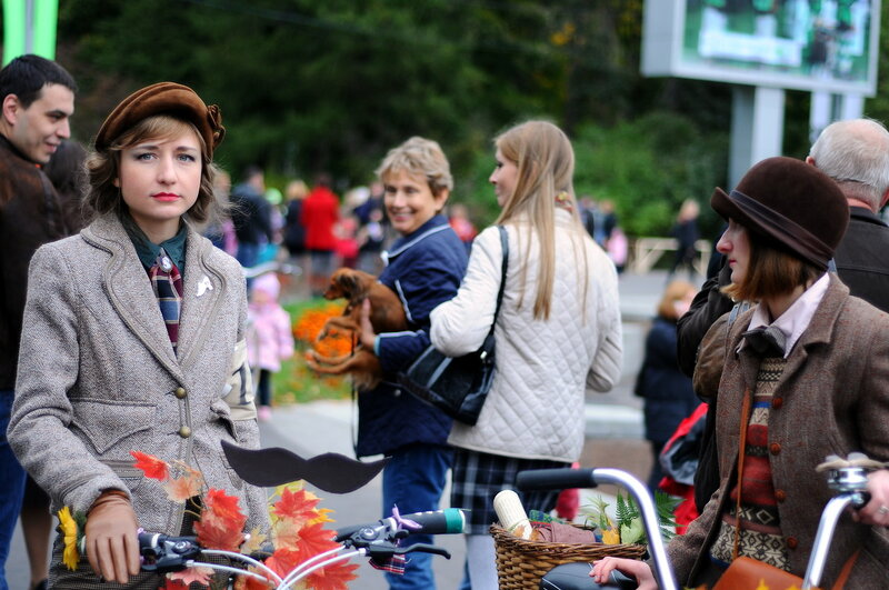 Tweed Ride Moscow